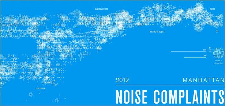 Yo, I'm Trying to Sleep Here! New York's Wonderful Map of Noise - John Metcalfe - The Atlantic Cities