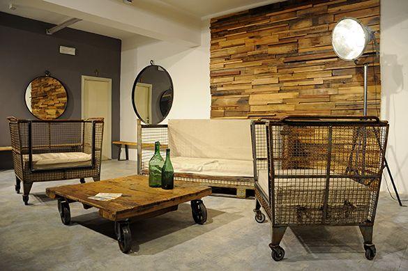 SESTINI E CORTI: repurpose design iron and wood