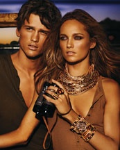 Michael Kors Golden, Tortoise and Tiger's Eye Jewelry: Mario Testino, Hair Colors, Simon Nessman, Africans Safari, Michael Kors, Ads Campaigns, Karmenpedaru Mariotestino, Mariotestino Michaelkor, Karmen Pedaru