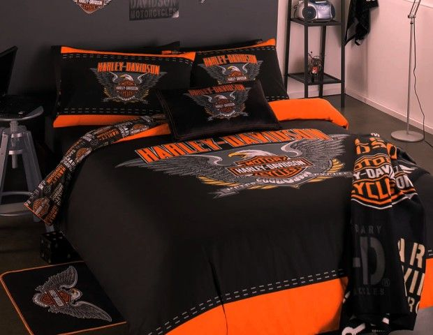 The 25 Best Ideas About Harley Davidson Bedding On