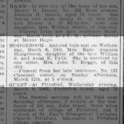 Clipping from Democrat and Chronicle on Newspapers.com