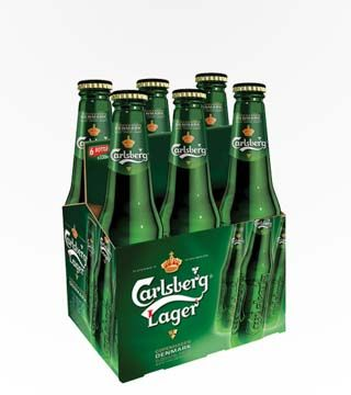 Carlsberg - $11.99 Carlsberg is a bright, well balanced beer with a long, dry finish. 5% ABV