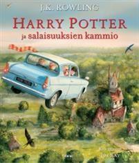 J. K. Rowling: Harry Potter ja salaisuuksien kammio (24,90e)