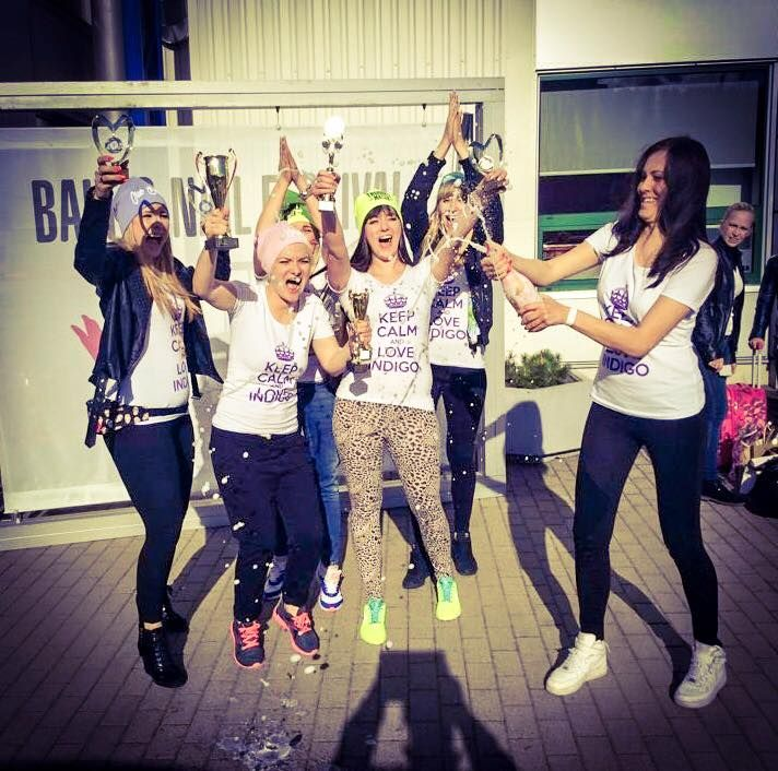 Mistrzostwa Europy w Wilnie! Follow us on Pinterest. Find more inspiration at www.indigo-nails.com #nailart #nails #omg #polish #indigo