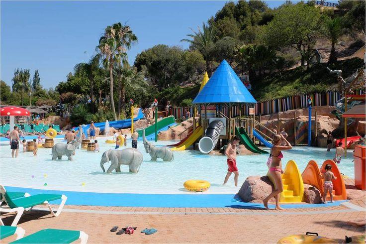 Parc aquatique Aqualandia, Benidorm, Espagne