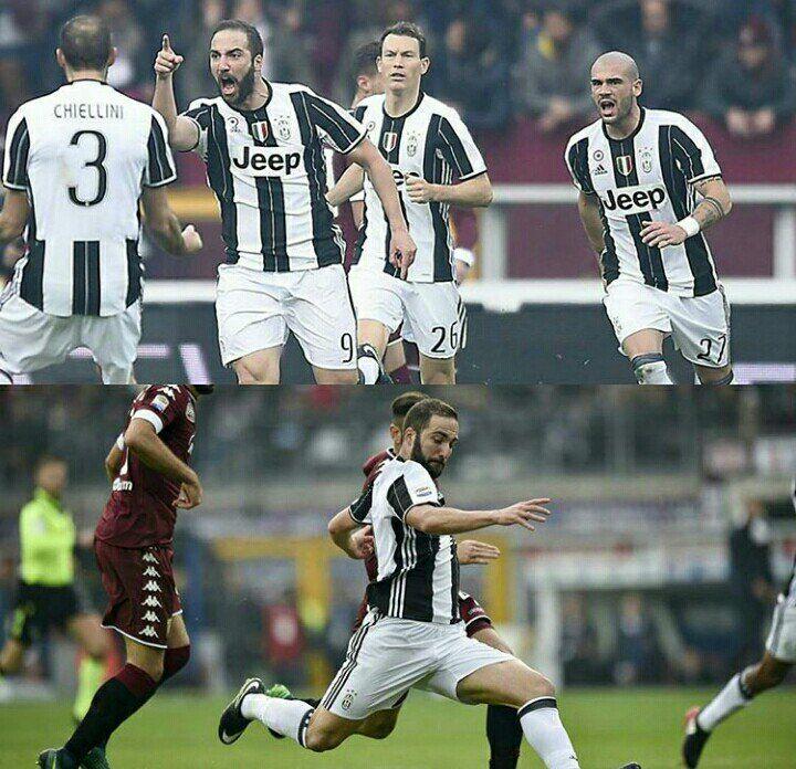 Torino-Juventus è terminata 1-3. I Bianconeri vincono in rimonta davanti ad un Toro per nulla inferiore. Dopo i gol di Belotti al 16' e il pareggio di Higu