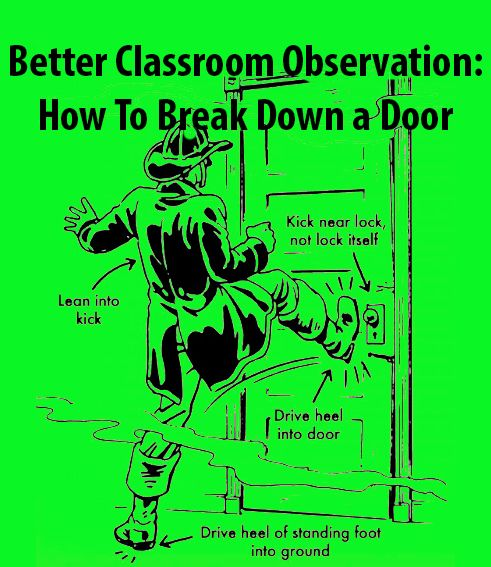 In the beginning of my career I had some pretty rough classroom visits. I can…