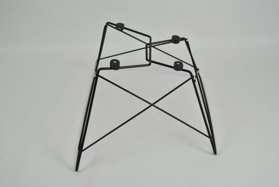 Eames Style Cat's Cradle Low Rod Base by MezaModernDesigns on Etsy