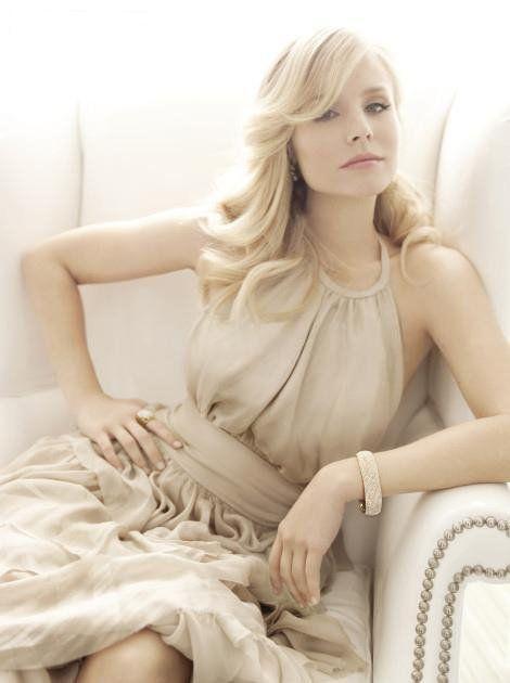 Kristen Bell. I quite like her... xoxo gossip girl