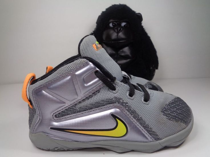 Babies Nike Lebron James XII Basketball Shoes Size 8C US 685185-080
