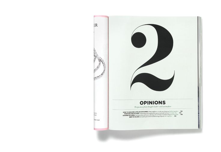 Redesign of the Four Seasons Magazine.