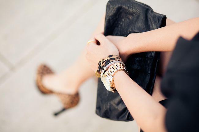 Леопардовые туфли...