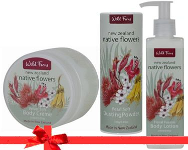 Native Flowers skincare