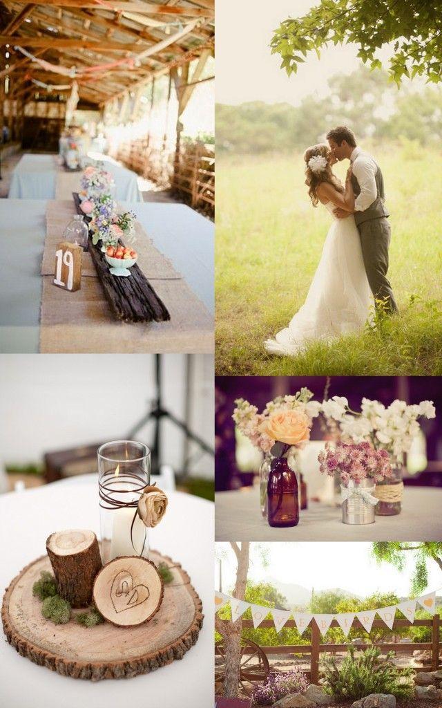 outdoor wedding - diy portland wedding