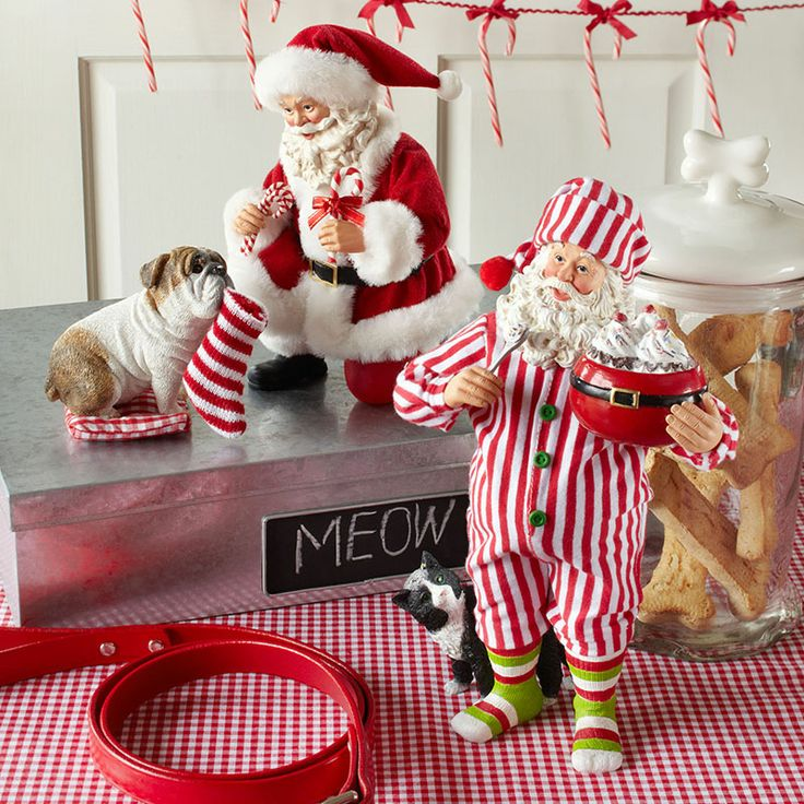 Department 56 Possible Dreams Santa and His Pets. For more information www.department56.com Shop 24/7 shop.department56.com