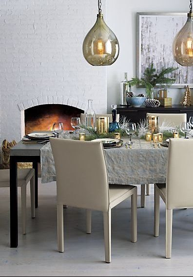 parsons concrete top dark steel base dining tables in 2019 dining rh pinterest com