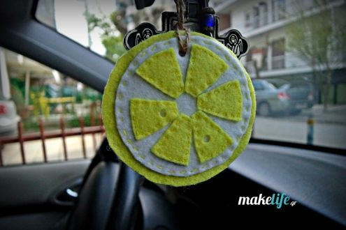 Diy φυσικό αρωματικό αυτοκινήτου