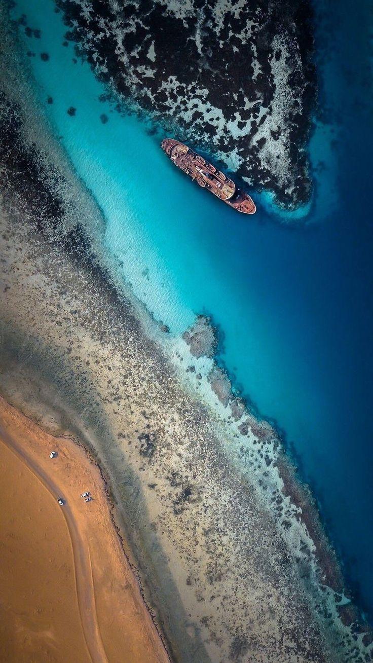 #travel #drone #beach #landscape #blue #ocean