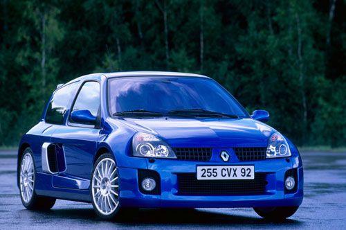 RENAULT CLIO (2) V6 RS phase 2 (2003-2005) - ESSAI