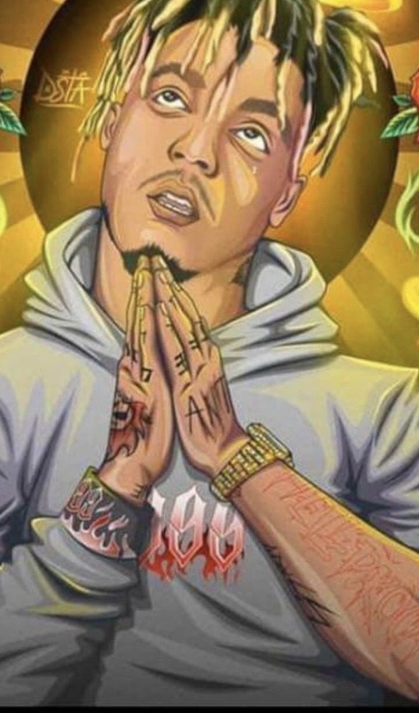 Rapper art image by Evelyn7 on Juice wrld in 2020