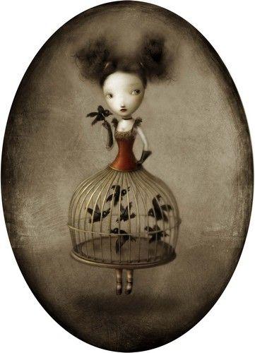 Illustration: Nicoletta Ceccoli, entre beauté et cauchemar