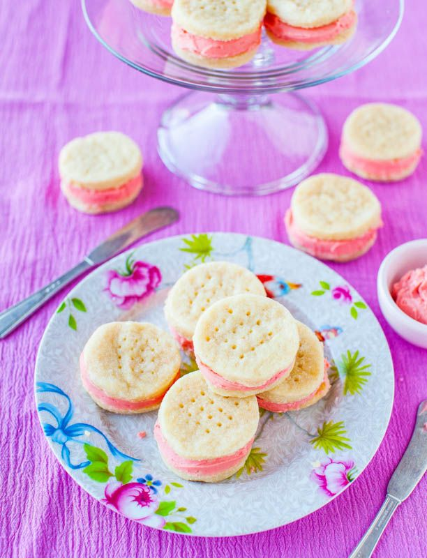 Buttery Sugar Wafer Sandwich Cookies from http://www.averiecooks.com/2013/03/buttery-sugar-wafer-sandwich-cookies.html