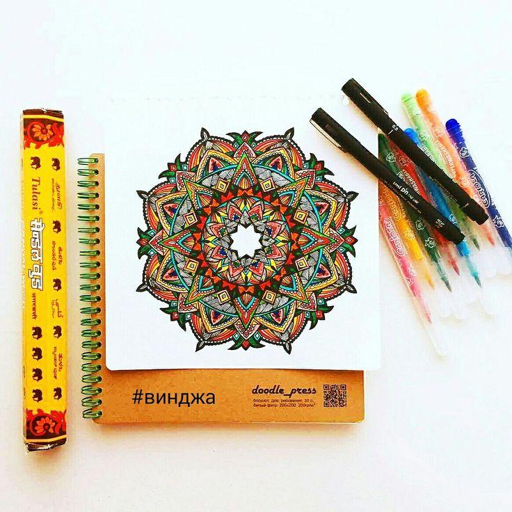 #vindjah #mandala #dots #doodling #doodle #zentangle #картина #tattoo #винджа #мандала #тату #эскиз #дудлинг #зентагл  #точки