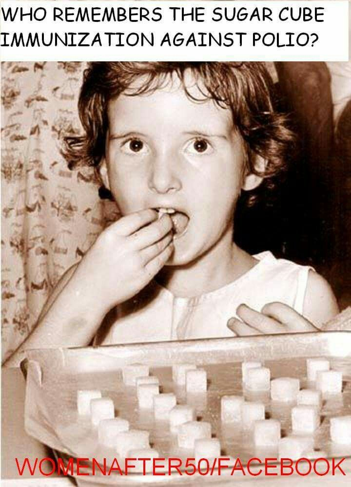 Yep but I got it in the 60s. We always got a few dolly mixtures from the school nurse to take to taste away.