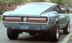 There were eight Mustang Stallions built in 1967 which had Mercury Cougar tailli… – Mustang Sally