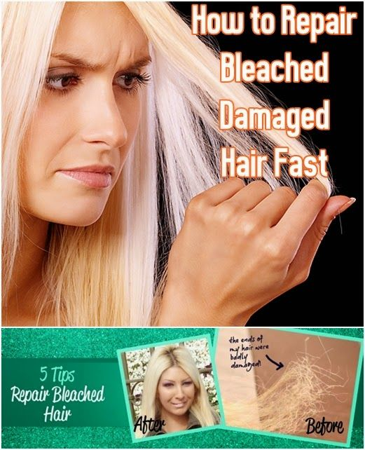 How to Repair Bleached Damaged Hair Fast