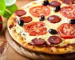 Pizza au chorizo Ingr�dients