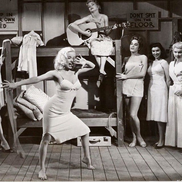 Mamie Van Doren is rocking with Untamed Youth (1957)