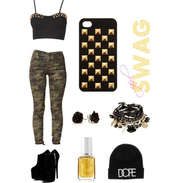 Swag Outfits for Girls | fashion look from June 2013 featuring Forever 21 jeans. Browse and ...