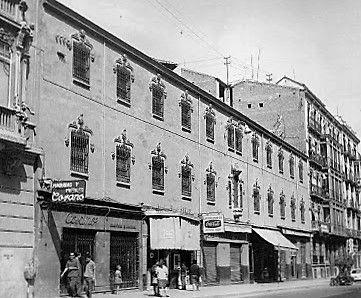 Convento de Santa Paula antes de convertirse en hotel