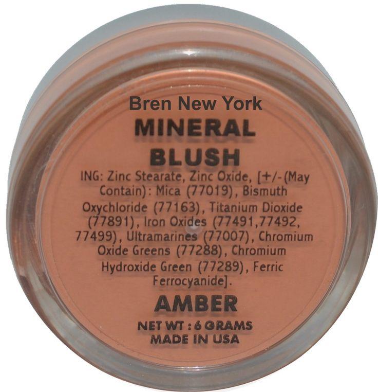 Amber Mineral Blush Shade
