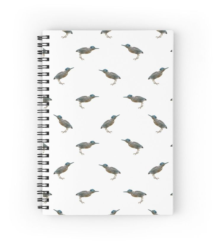 Exotic Birds Pattern Notebook