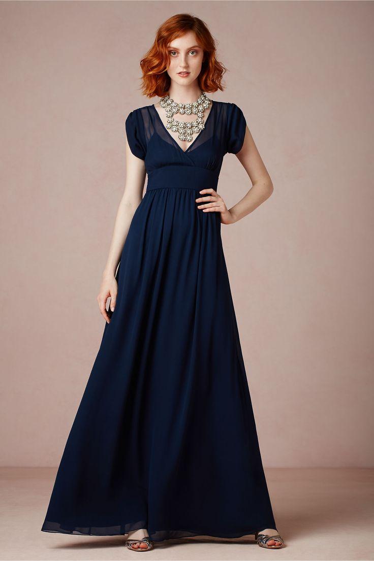 Ava Maxi Dress from BHLDN. HAIR!