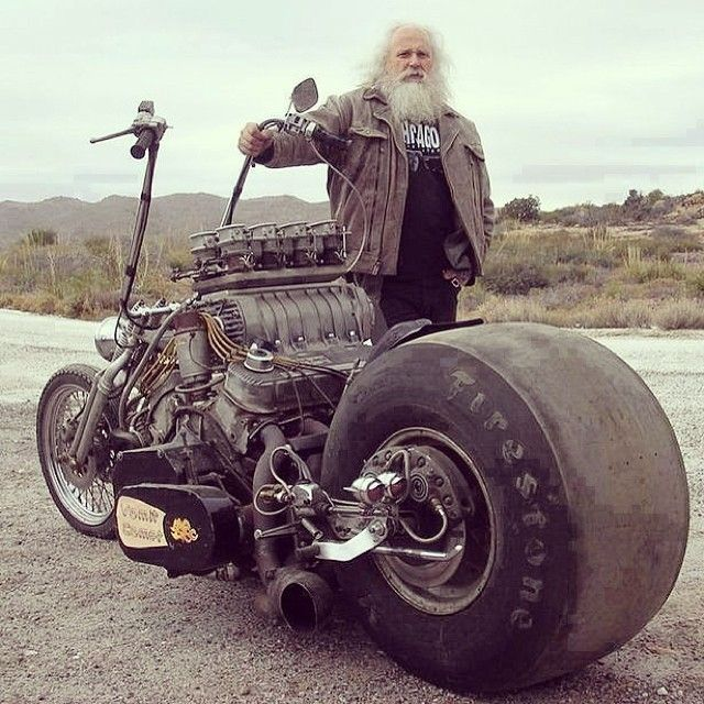 Insane Custom Chopper Modified Motorcycle Crazy Mods