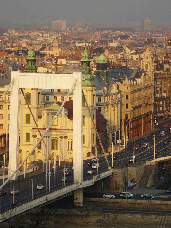 Erzsébet híd - Budapest