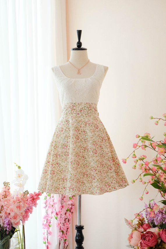 692064fbee Pale yellow floral dress yellow bridesmaid dresses floral yellow sundress  wedding guest dress flower girl dress spring summer sundress