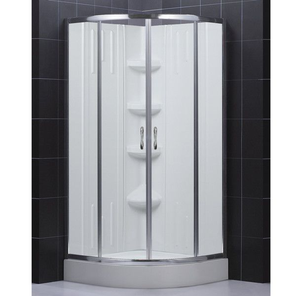 overstock add an extra shower to any bathroom in your home with this functional shower enclosure kit the kit comes with everything you need