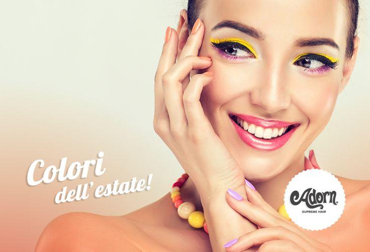 In estate via libera al make up più divertente e colorato!