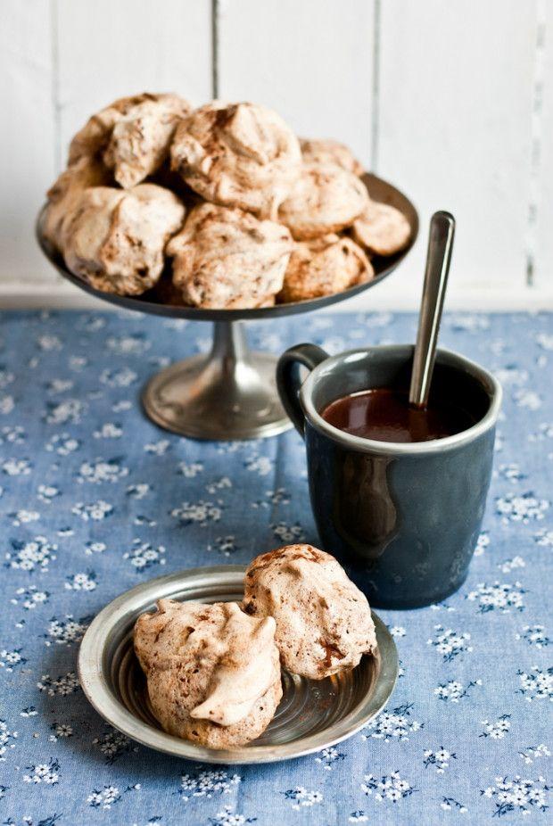 Čokoládovo-kávové pusinky Foto: Sweet pixel blog