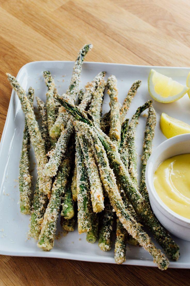 How To Make Supercrispy, Ovenbaked Asparagus Fries