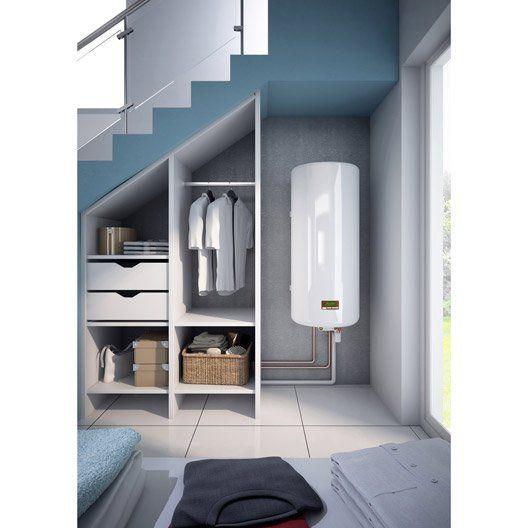 Chauffe-eau électrique vertical mural SAUTER Essentiel +, 150 l
