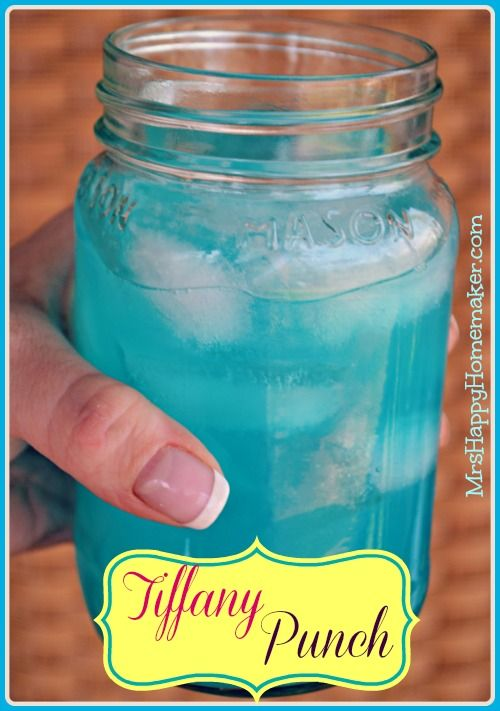 Tiffany Blue Drink. Directions on picture (: