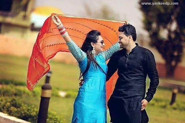 girls wedding dresses,couples dp,punjabi suit: Couple dp for whatsapp dp