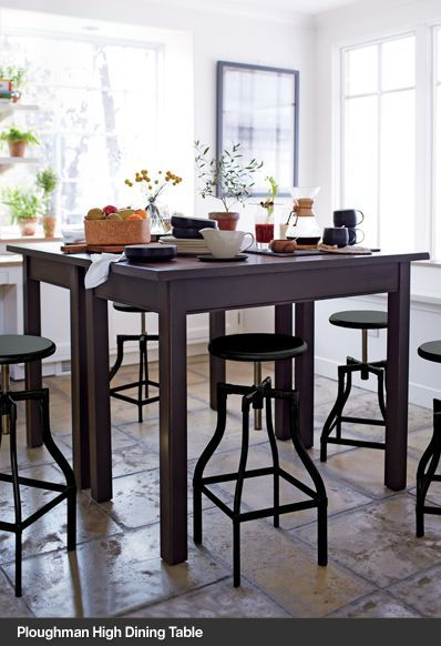 Love The High Table Top Dining Room Remodel Inspiration 2014 Mod