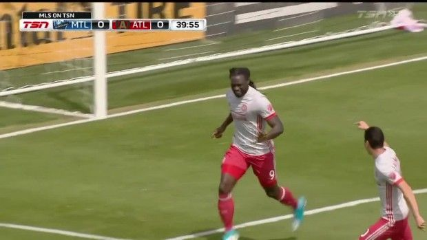 #MLS  GOAL: Kenwyne Jones with a calm finish to score his first goal for Atlanta