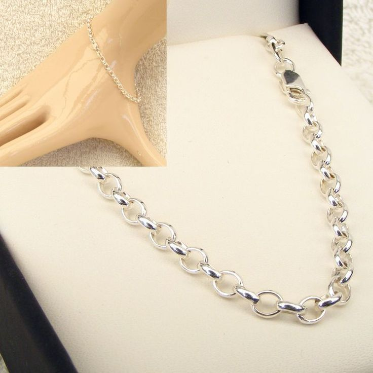 Buy Sterling Silver Oval Belcher Chain (MM-BEL-0027) online at Chain Me Up